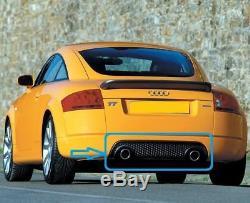 Audi Tt 8N MK1 Neuf 3.2 V6 Nid D'Abeille Pare-Chocs Arrière Bas Jupe Réflecteur