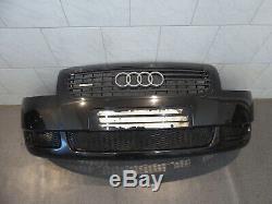 Audi Tt 8N Pare-Chocs Nettoyage de Phares LZ9V Noir Halogène
