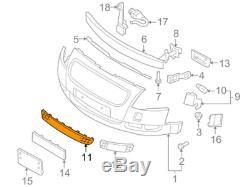 Audi Tt 8N avant Pare-Choc Inférieur Grille 8N0807683D3FZ 8N0807683D 3FZ Neuf