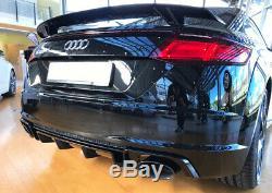 Audi Tt 8s S-line Rajout De Pare Choc Arriere / Jupe (2013-2016) Style Tt Rs