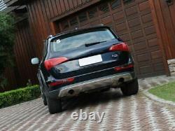 Avant Arrière Pare-choc brossé Plaque de protection couverture Audi Q5 2010 2011