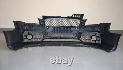 Avant Complet Pare-Choc Set pour Audi A4 B7 Rs Style S LINE Tuning Grille Maille
