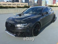 Avant RS6 Style Pare-Choc ABS pour Audi A6 S6 C7 4G Neuf