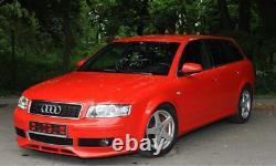 Avant Se Pare-Choc Menton Lèvre Spoiler pour Audi A4 B6 Séparateur Rs