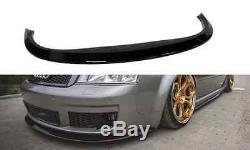 Bas Spoiler Lèvre pour RS6 C5 Pare Choc avant Coupe Menton Jupe Séparateur Jupe