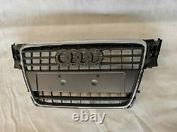 CALANDRE front pare-chocs CHROME POUR AUDI A4 B8 2007-2011 NEUF