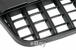 Calandre Sport Grill Rayon Noir Mat Emblème Support pour Audi Q7 4L 2005-2009