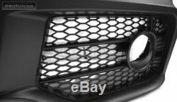 Complet Avant Pare-Choc Rs Style pour Audi A4 B7 S LINE Kit de Carrosserie Noire