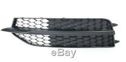 Côté Grille pour Audi A7 S7 4G C7 avant Pare-Choc Maille Paire Noir S LINE Coupe