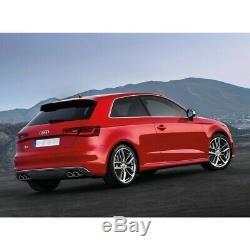 Diffuseur Pare-chocs arrière pour AUDI A3 8V Hatchback Sportback 12-15 S3 Design