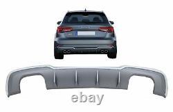Diffuseur Pare-chocs pour Audi A3 8V 16-19 S-Line Hatchback Sportback S3 Dersign