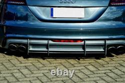 Diffuseur Performance avec nervures Pour Pare-chocs Arrière Audi TTS 8J