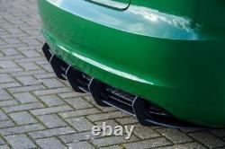 Diffuseur avec nervures pour pare-chocs arrière Audi A3 8P S-Line 08-12