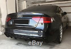 Diffuseur d'air de Pare-Chocs Arrière Pour Audi A5 8T 12-16 Coupé / Cabrio RS