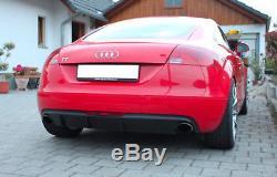 Diffuseur d'air de Pare-chocs arrière Audi TT 8J Coupe 2006-2010 R32 Design