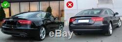 Diffuseur de Pare-chocs arrière Audi A5 8T 4D Sportback S-Line NonFacelift 07-11