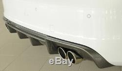 Diffuseur pare-choc arrière RIEGER AUDI A3 8V 2012-2016 00099356