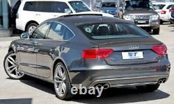 Diffuseur pare-chocs arrière pour AUDI A5 8T 4 portes Sportback 12-15 S5 Design