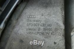 FACELIFT AUDI A6 4F C6 Pare-chocs avant Pare-chocs Tablier avant LX7W argent PDC