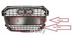 GRILLE PARE CHOCS AVANT CENTRE CALANDRE Audi A1 Sportback (8X) (2011-) NEUF