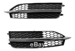 Grille à Gauche + Droite Audi A7 4G Ab 2010-2014 Original Audi S-LINE Pare-Chocs