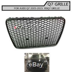 Grille en nid d'abeille de pare-chocs avant pour Audi Q7 SQ7 2005-2015 RSQ7