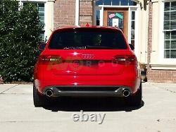 Jupe Arrière Pare Chocs Diffuseur pour Audi A4 B8 Berline Avant