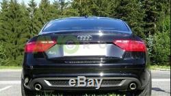 Jupe Arrière Pare Chocs Diffuseur pour Audi A5 Sportback 5D 11-16