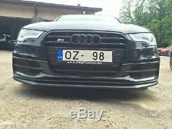 Jupe pare-chocs avant Audi A6 S6 4G C7 2011-2015 Jupe pare-chocs LIP Chin