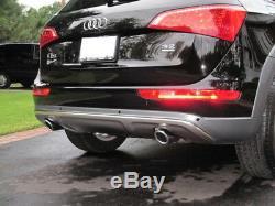 Kit Spoiler Rajout Pare Choc Avant Arriere Inox Off-road Audi Q5 2009+ 3.0 Tdi