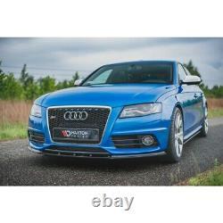Lame Du Pare-Chocs Avant Audi S4 / A4 S-Line B8 Textured