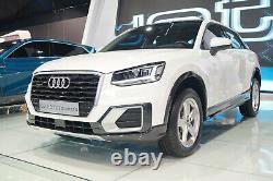 Lèvre de Spoiler Pare-Chocs + Audi Q2 Ga Ab 2016+Original+81A807110B