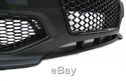 NEUF! Pare-chocs Avant pour AUDI A3 8P 2005-2008 RS STYLE Noir FR ZPAU04EI XINO