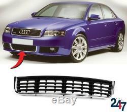 Neuf Audi A4 B6 2000 2005 S LINE avant Pare-Choc Centre Inférieur Grille