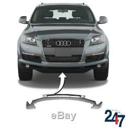 Neuf Audi Q7 4L 2005 2009 avant Pare-Choc Inférieur Centre Spoiler Bague Trim