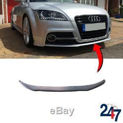 Neuf Audi Tt MK2 07-14 avant Pare-Choc Inférieur Spoiler Bague Excellent