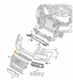 Neuf D'Origine Audi Q5 S LINE 09-12 Pare Choc avant Centre Inférieur Gris