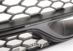 Neuf D'Origine Audi S3 2013-2017 Pare Choc avant Bas Grille Droit Noir