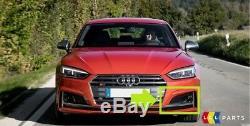 Neuf D'Origine Audi S5 2017-2018 Pare Choc avant N/S GAUCHE Brouillard Grille