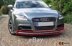 Neuf D'Origine Audi Tt MK2 07-14 Pare Choc avant Becquet Inférieur Bague