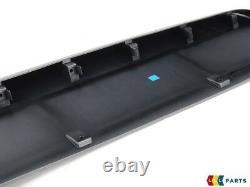 Neuf Original AUDI Q7 10-15 S-LINE Avant Pare-Choc Inférieur Jupe Bord Et Grille