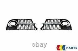 Neuf Original AUDI Tt MK2 11-14 S-LINE Avant Pare-Choc Gauche Droit Phare Set