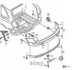 Neuf Original Audi Q5 09-12 Pare-Chocs Crochet Remorquage Barre Housse