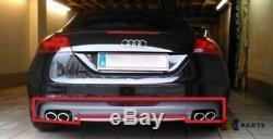 Neuf Original Audi Tt TTS 07-14 Pare-Chocs Arrière Double Échappement Réflecteur