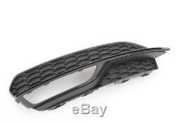 Neuf Véritable Audi A3 S3 avant Gauche Inférieur Pare-Choc Calandre Noir