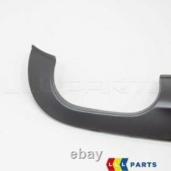 Neuf Véritable Audi A4 S4 8E B7 Pare-Chocs Double Échappement Coupe