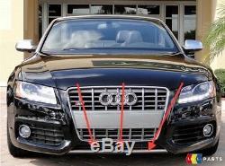Neuf Véritable Audi A5 S LINE Pare Choc avant Réflecteur Bordure Chrome