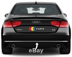 Neuf Véritable Audi A8 D4 2010 2013 Pare-Chocs Arrière Chrome Moulure Bordure