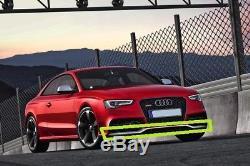 Neuf Véritable Audi RS5 10-16 Pare Choc avant Spoiler Bordure Excellent