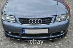 Noir Brillant Avant Pare-Choc Spoiler / Jupe /Jupe pour Audi S3 8L 1999-2003